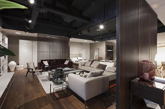 Lazzarini arredamento lurano bergamo milano home furniture - B b italia design ...